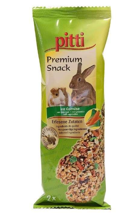 Pitti Premium Snack with vegetables 2Stuk
