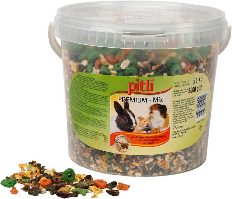 Pitti Premium-Mix for rodents 3 kg
