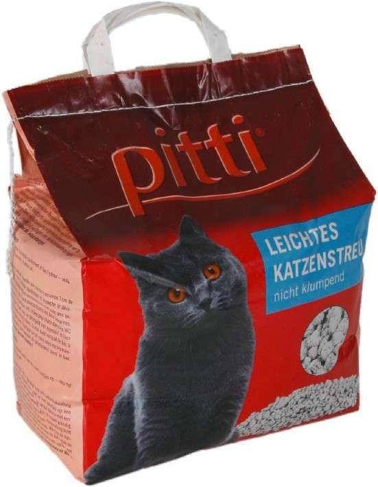 Pitti Rellenador fácil para gatos no aglomerante 2 kg