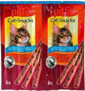 Tiffany Cat-Snacks with Salmon & Trout 6 Pcs