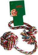 Pitti Ball with rope, L Multicolore