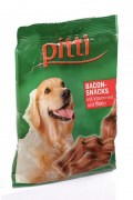 Pitti Bacon-Snacks con vitaminas y biotina 85 g