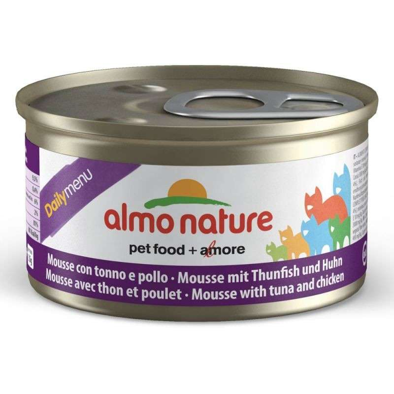 Almo Nature DailyMenu Mousse with Tuna and Chicken 85 g