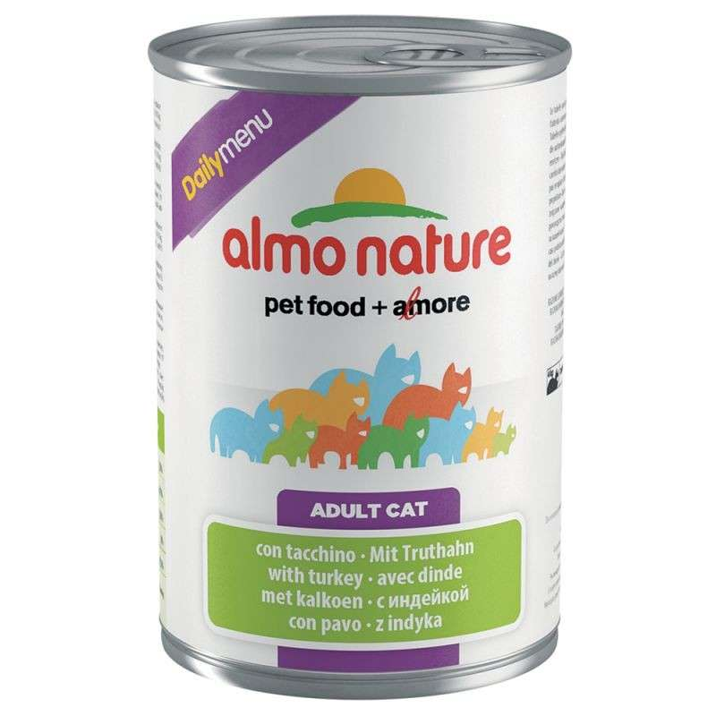 Almo Nature DailyMenu Adult Cat Kalkoen 400 g