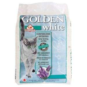 Golden White Clumping Bentonite Cat Litter 14 kg  från Golden Grey köp billiga på nätet