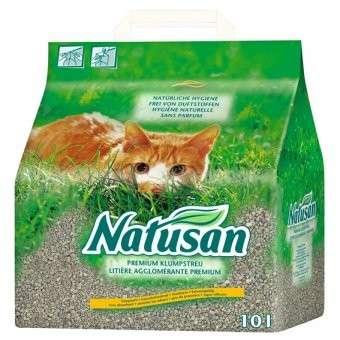 Natusan Premium Areia para Gatos  10 l