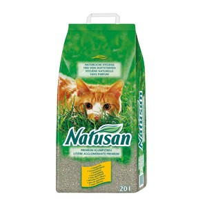 Natusan Premium Areia para Gatos 4008429111129 opinião