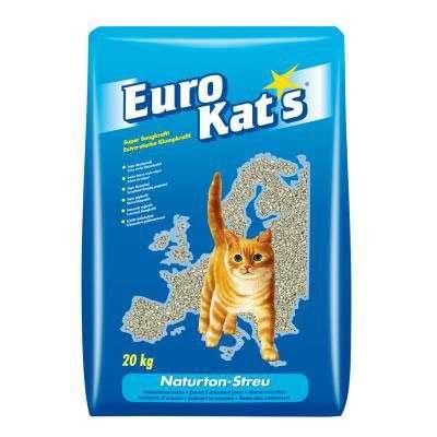 Natural Clay Litter in paper bag 20 l  af Eurokat's køb rimeligt og favoribelt med rabat