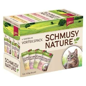 Nature's Menu Multipack Pouch by Schmusy 12x100 g buy online