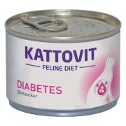 Kattovit Feline Diet Régime Diabetes 175 g