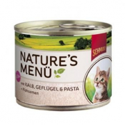Nature´s Menú Kitten Ternero & Aves de Corral 190 g