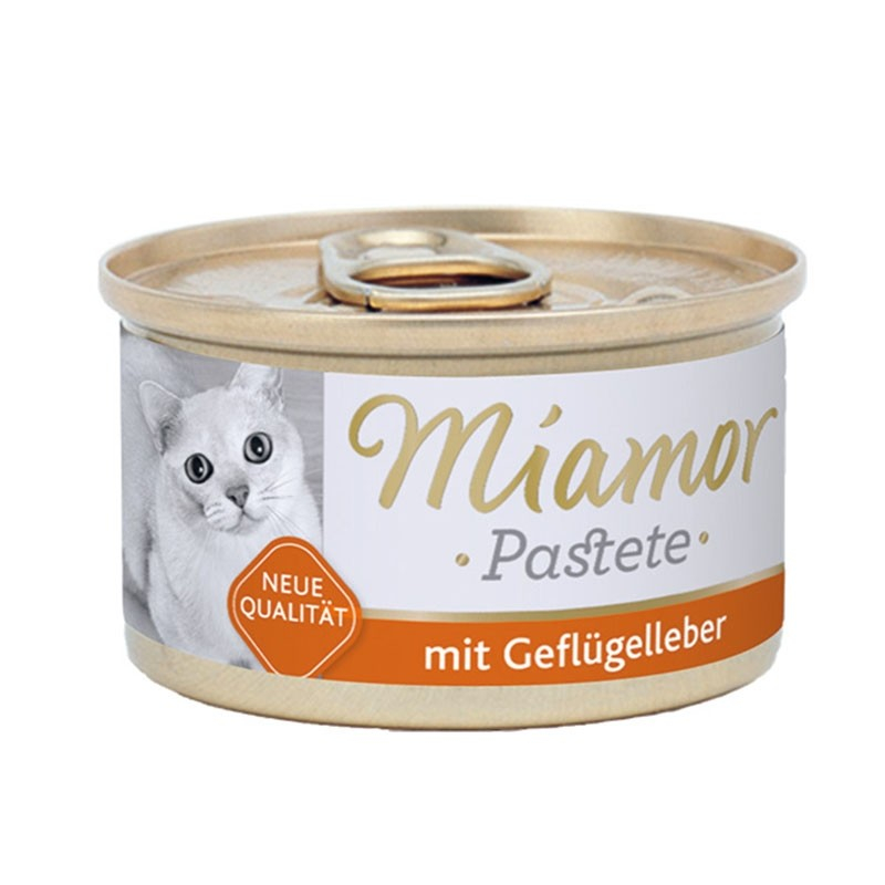 Miamor Meat Pate Poultry Liver 85 g