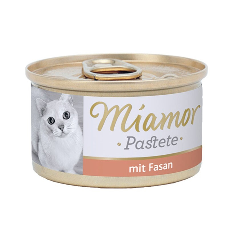 Miamor Meat Pate Pheasant 85 g order cheap