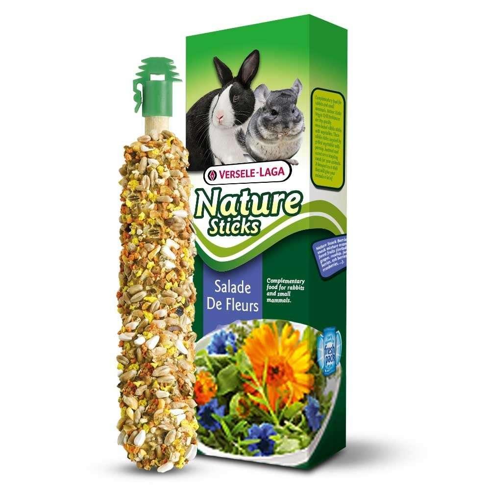 Versele Laga Nature Sticks Flower Salad Herbivoren 80 g