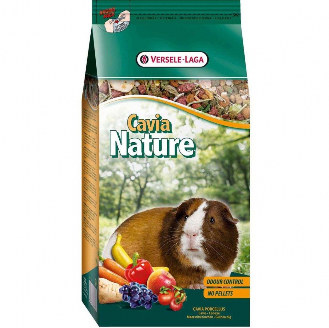 Versele Laga Nature Cavia 10 kg, 2.5 kg, 750 g kjøp billig med rabatt