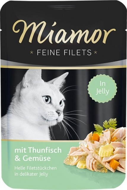 Miamor Fine Fileter Tun & Grøntsager 100 g test