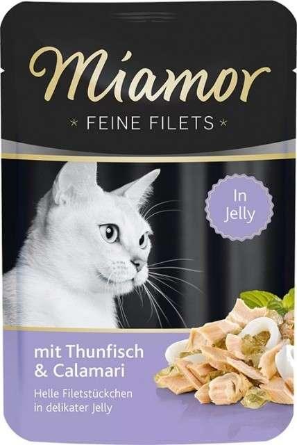 Miamor Fijne Filets Tonijn & Inktvis 100 g