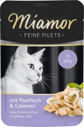 Feine Filets Pouch Tuna & Calamari from Miamor 100 g