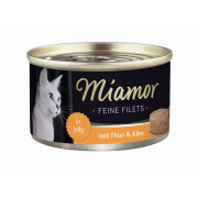 Miamor Feine Filets Thun & Käse in Jelly 100 g