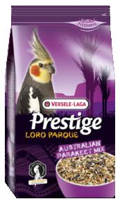 Versele Laga Prestige Australian Parakeet Loro Parque Mix 1 kg, 2.5 kg, 20 kg