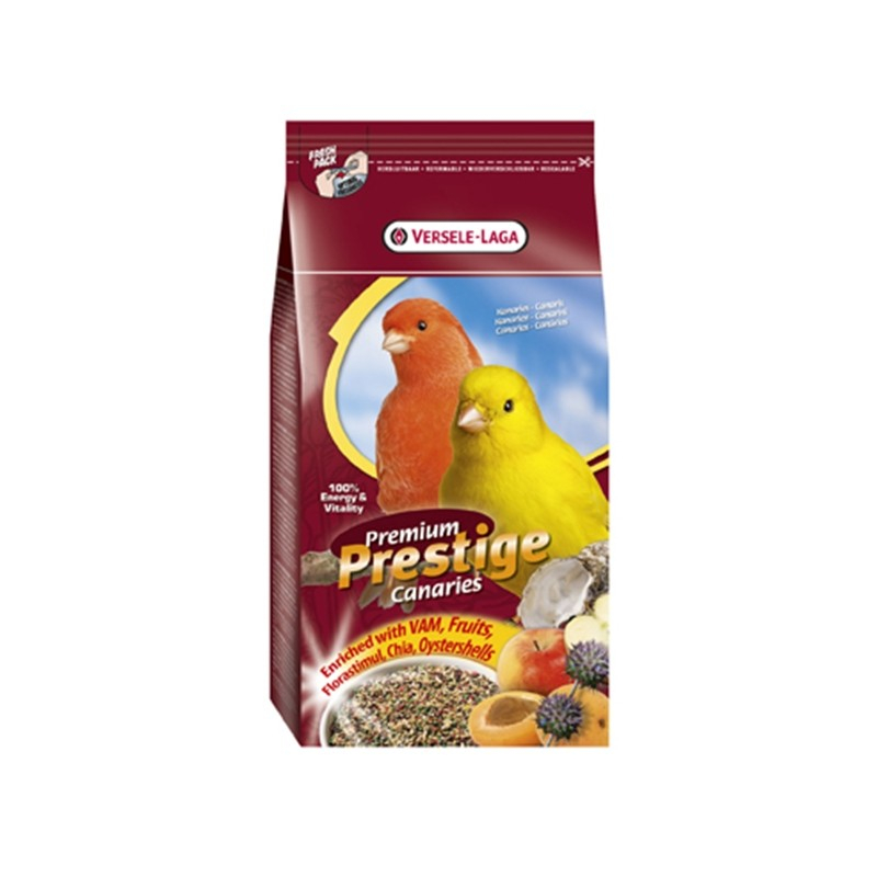 Prestige Kanarienfutter Premium von Versele Laga 2.5 kg, 1 kg online günstig kaufen