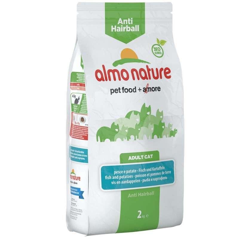 Almo Nature Holistic Anti Hairball Vis en Aardappelen 2 kg