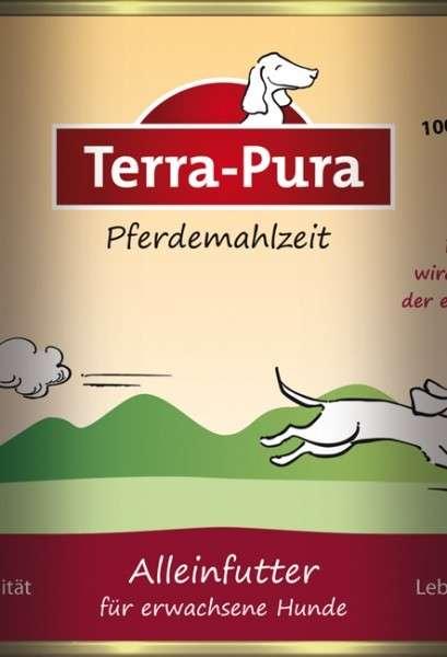 Terra Pura Pferdemahlzeit Maaltijd met Paard voor honden 400 g