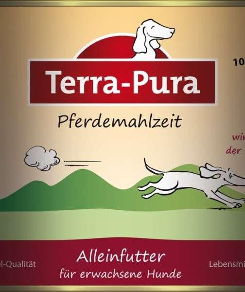 Terra Pura Pferdemahlzeit Maaltijd met Paard voor honden 800 g 4260123691134