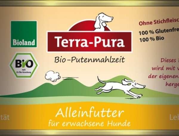 Terra Pura Bio-Putenmahlzeit Dinde Bio 200 g