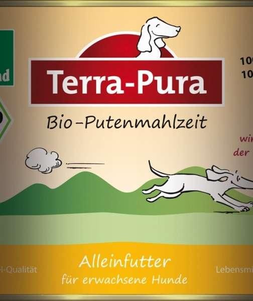 Terra Pura Bio-Putenmahlzeit Dinde Bio 800 g, 400 g, 200 g