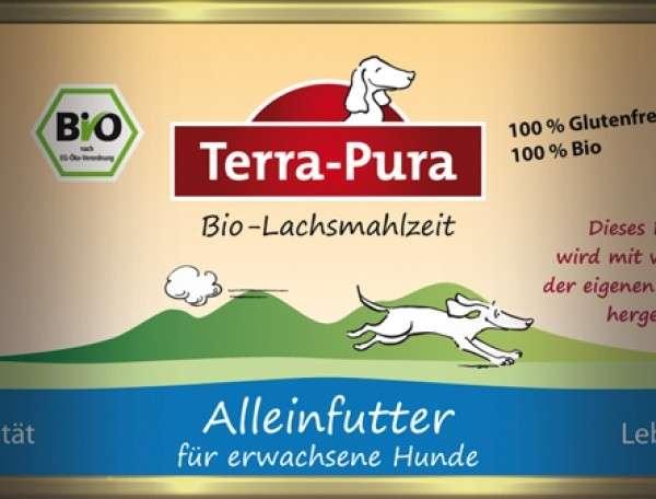 Terra Pura Bio-Lachsmahlzeit Saumon Bio 800 g, 400 g, 200 g