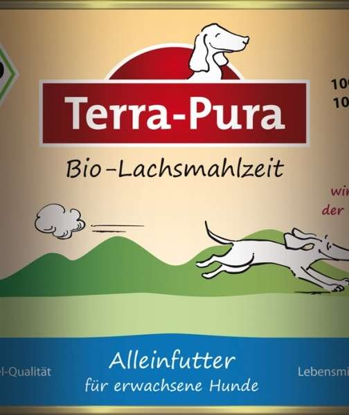 Terra Pura Bio-Lachsmahlzeit Saumon Bio 800 g