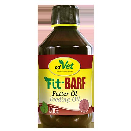 cdVet Fit-BARF Voederolie 500 ml, 250 ml