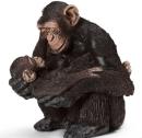 Hunchimpanse med baby Art.-Nr.: 4408
