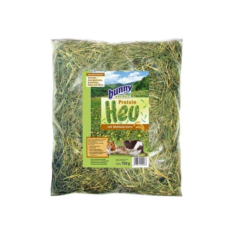 Bunny Nature Vers Gras Hooi Eiwit-Hooi Met Meelwormen 150 g  met korting aantrekkelijk en goedkoop kopen