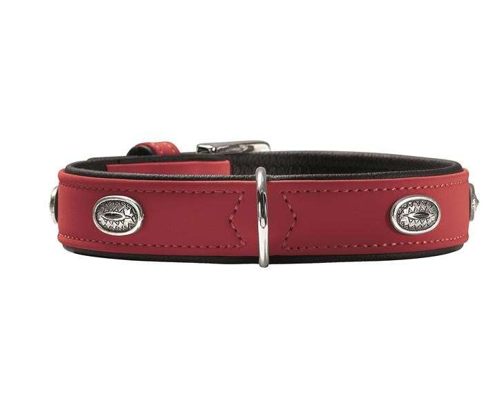Hunter Collar Softie, Stone, Red/Black 46-53 cm