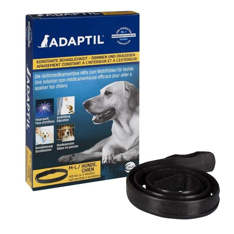 Halsbånd M-L  af Adaptil køb rimeligt og favoribelt med rabat