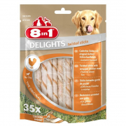 8in1 Delights Twisted Sticks Original 190 g