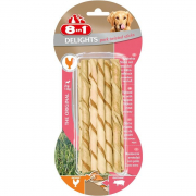 8in1 Delights Pork Twisted Sticks 10 Pieces 55 g