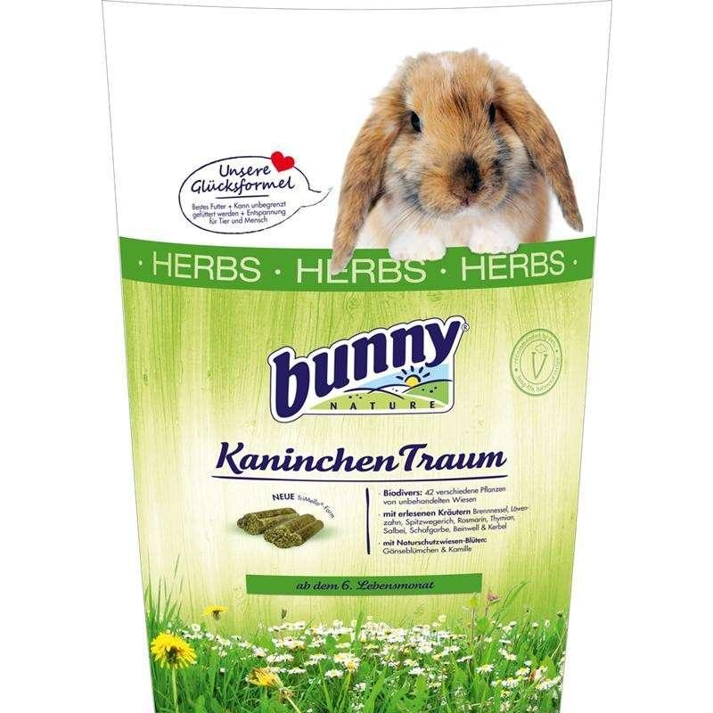 Bunny Nature KonijnenDroom Herbs 750 g, 4 kg, 1 kg