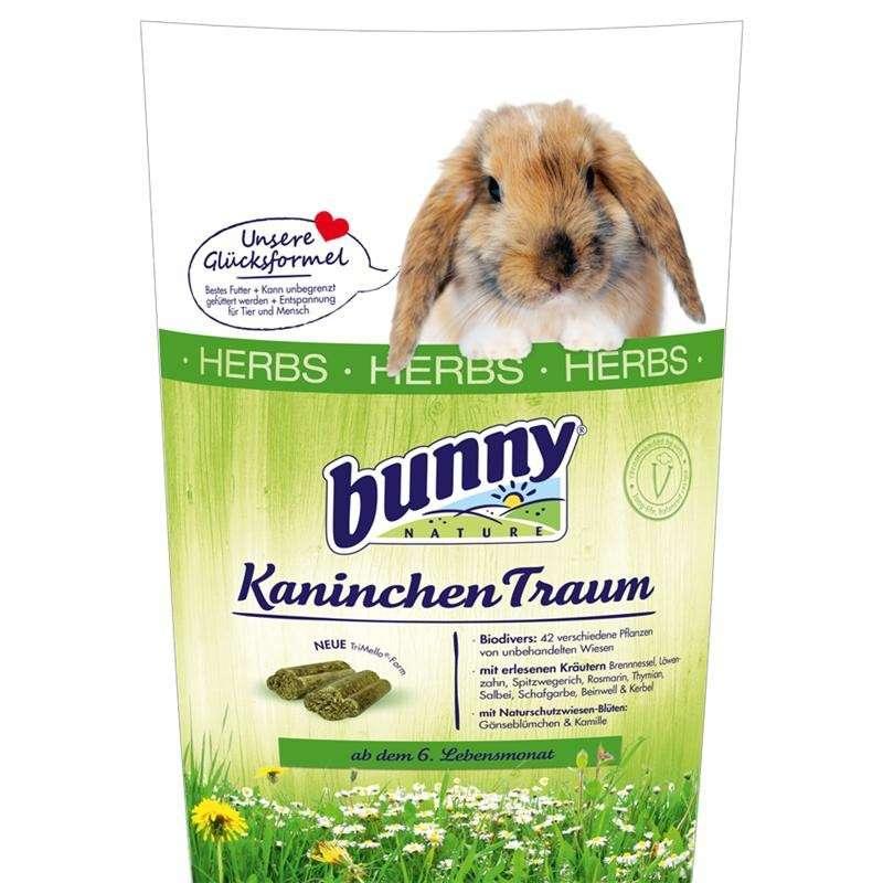 Bunny Nature KonijnenDroom Herbs 750 g 4018761200634
