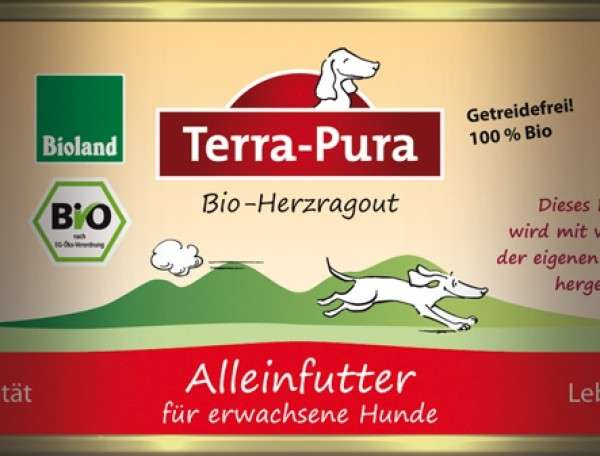 Terra Pura Bio-Herzragout Ragoût de Cœurs Bio 200 g