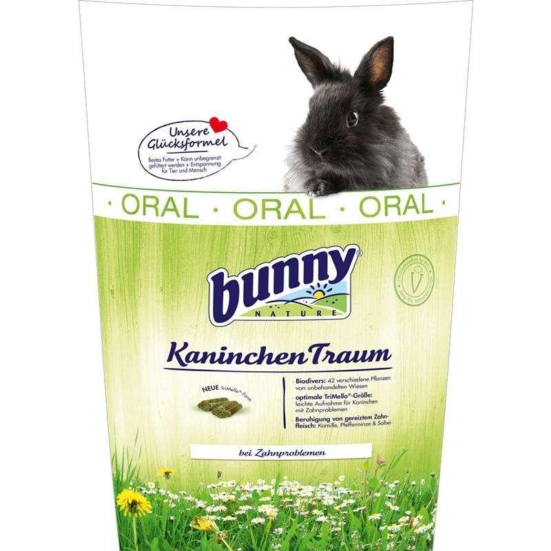 Bunny Nature KonijnenDroom Oral 750 g, 4 kg, 1 kg