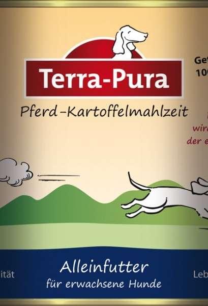 Terra Pura Pferd-Kartoffelmahlzeit Paard & Aardappel 200 g, 400 g, 800 g