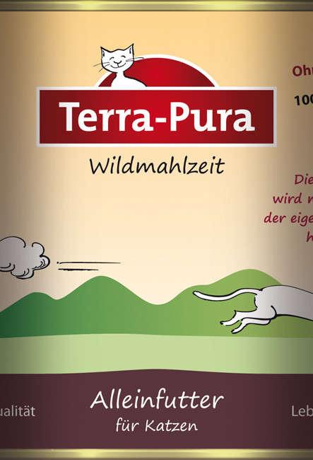 Terra Pura Alimento con carne de animales Salvajes 400 g