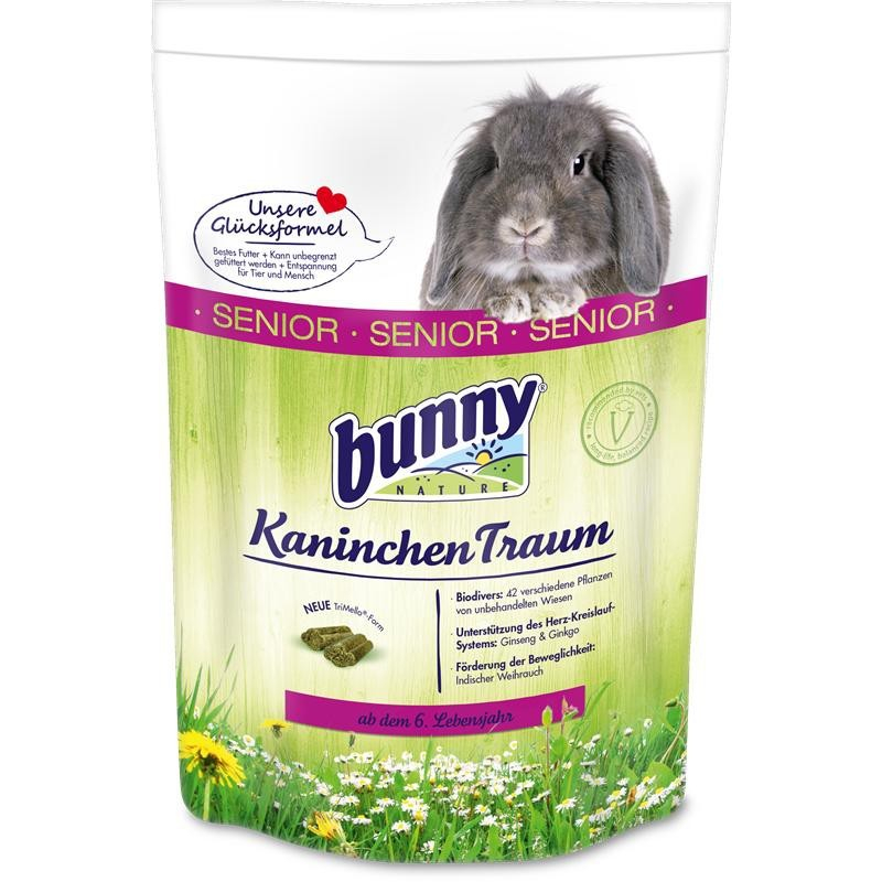 Bunny Nature KonijnenDroom Senior 750 g, 4 kg, 1 kg