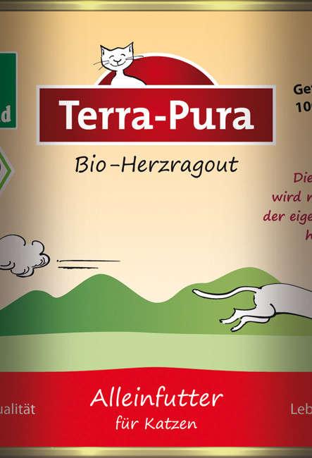 Terra Pura Biologisch Ragôut van Hart voor Katten 400 g