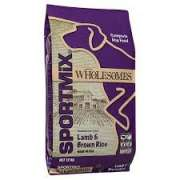 Sportmix Wholesomes Lamb & Brown Rice 12 kg