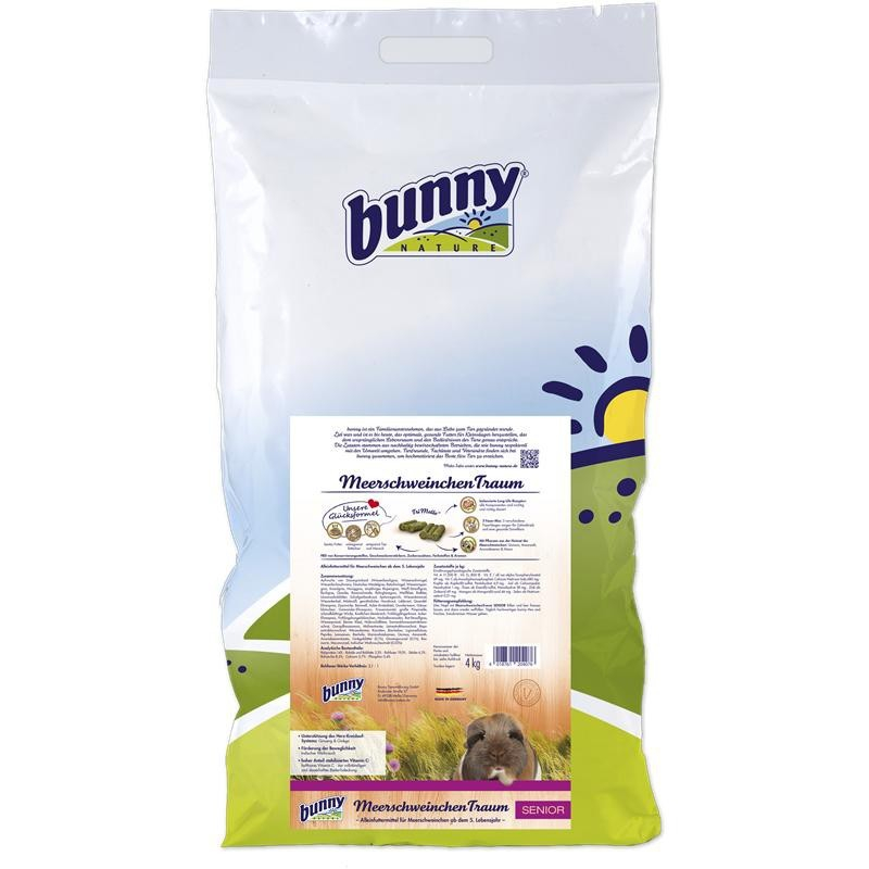 Bunny Nature CaviaDroom Senior 750 g, 4 kg, 1 kg