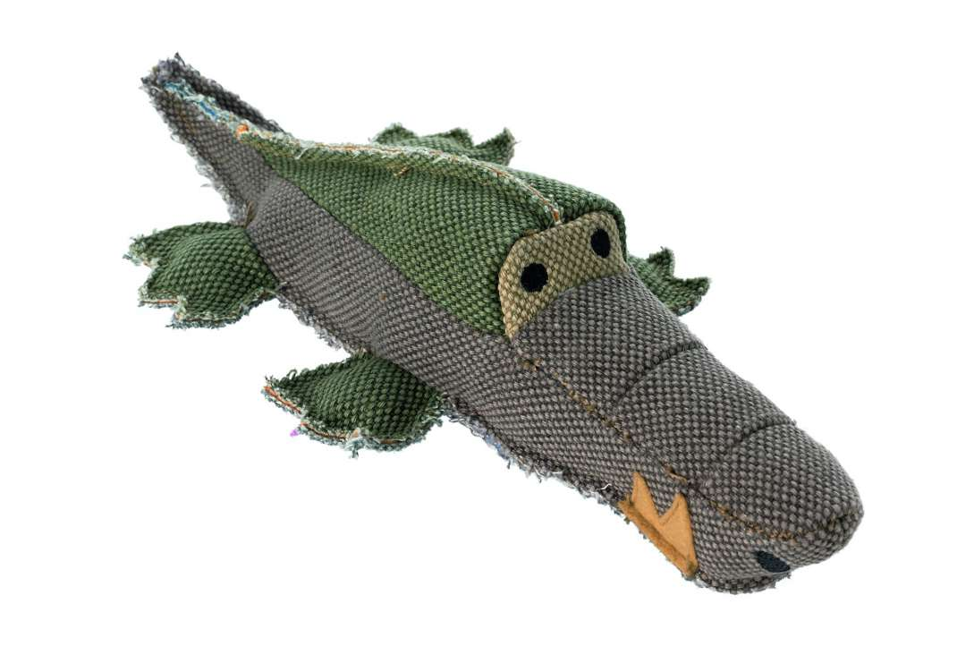 Hunter Hondenspeelgoed, Canvas, Maritime Crocodile  4016739608451